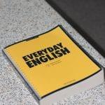 An English language textbook